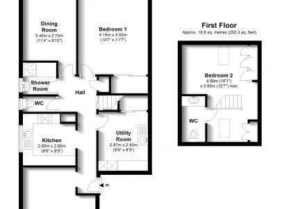 Floor Plan - 45 Piddinghoe Ave, Peacehaven